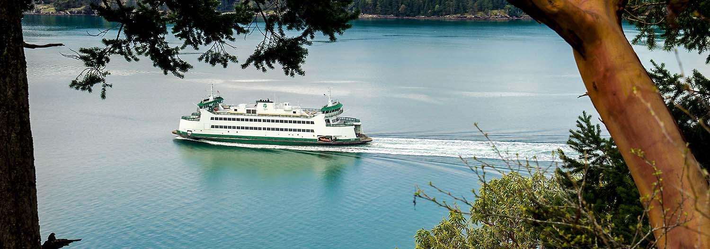 lopez island ferry upright head