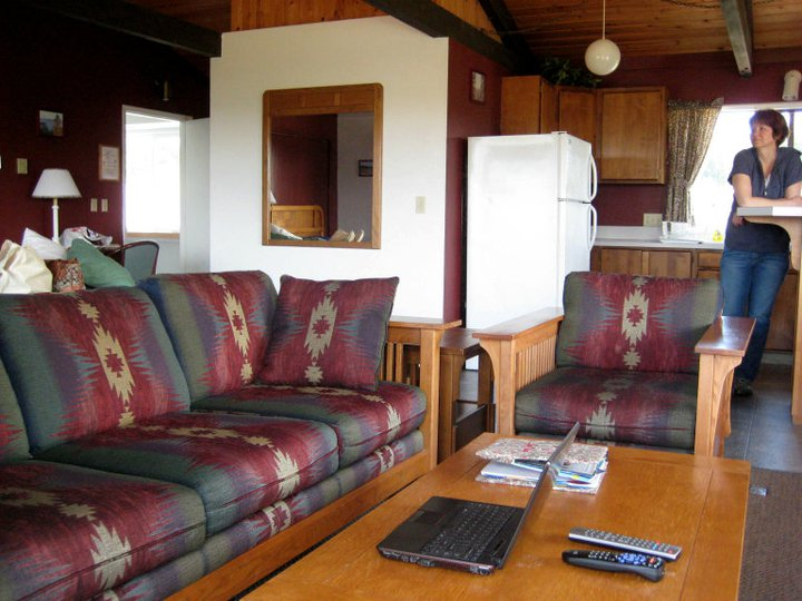 lopez island lodge rental accommodation kitchenette