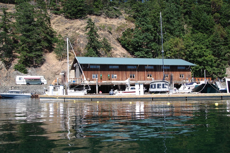 lopez island marina permanent moorage boat repair