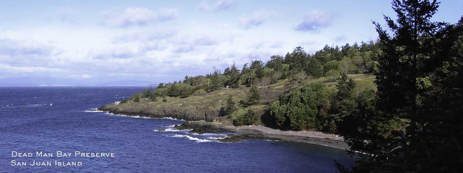 lopez island land bank preservation conservation nature hiking deadman bay
