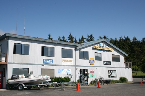 island marine center boat sales repair maintenance moorage marina