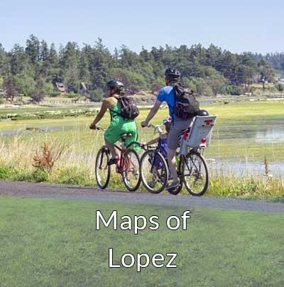 lopez island biking cycling bikes family activity