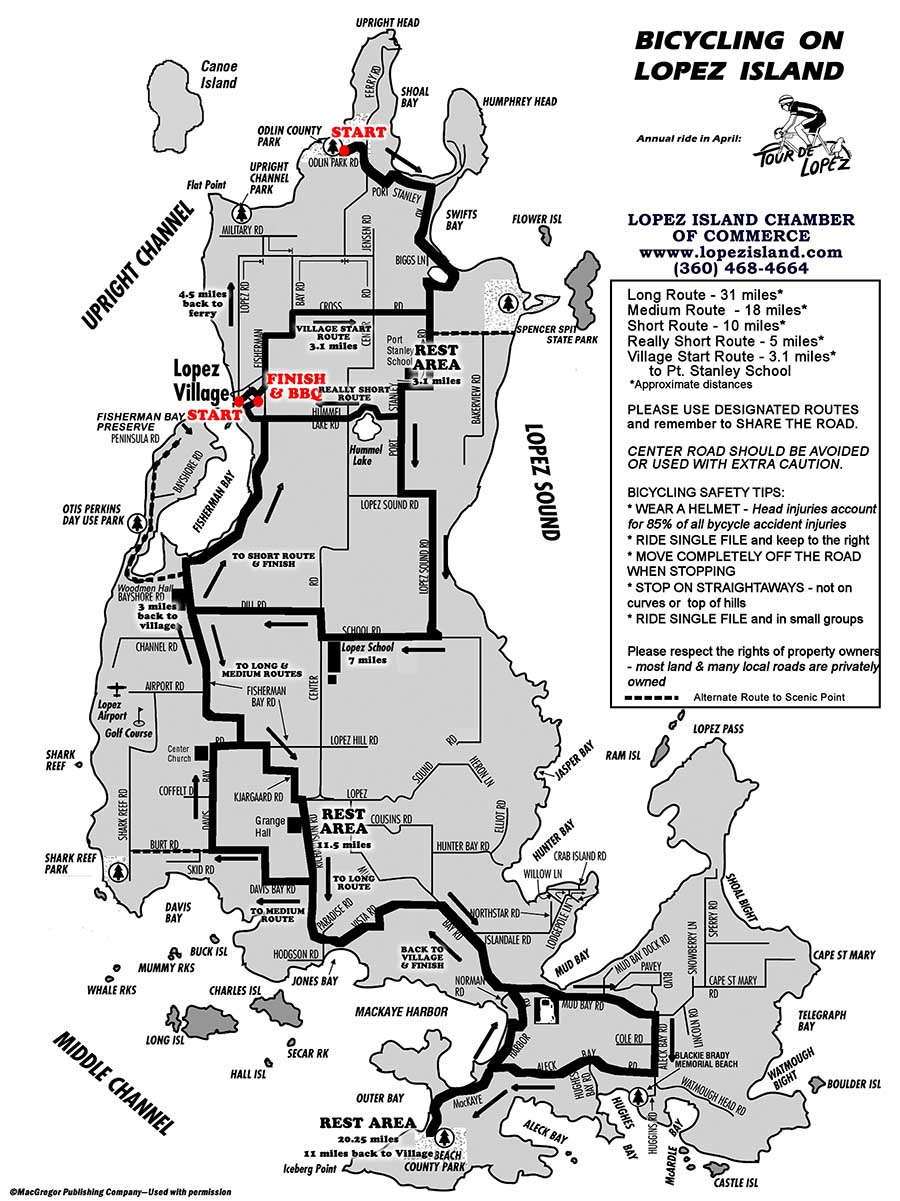 Map Lopez Island Maps of Lopez – Lopez Island Chamber of Commerce