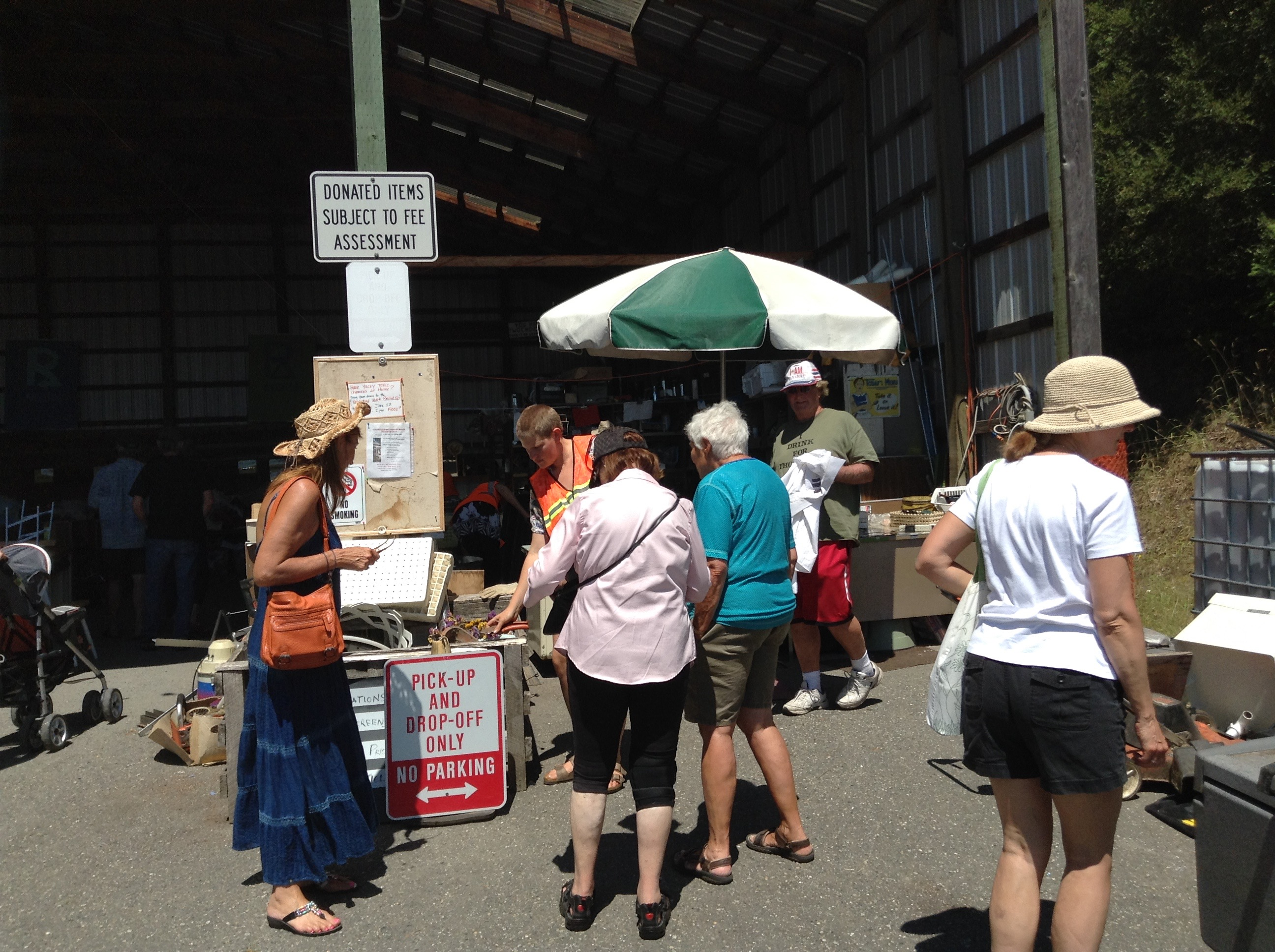 lopez island solid waste district fundraiser recycle reuse repurpose