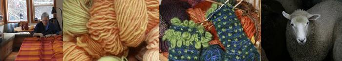 fiber weavers weaving yarn lopez island artist