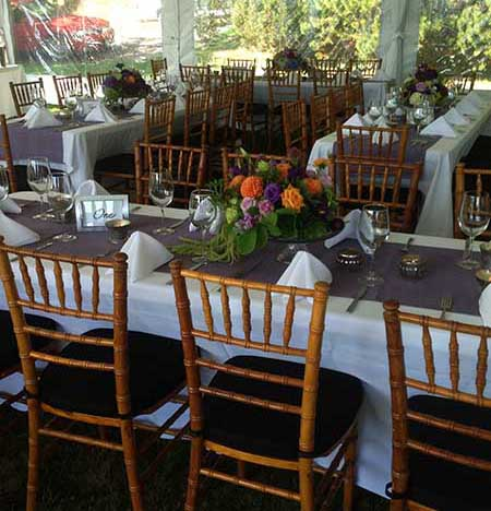 Orcas Events: Event Equipment Rentals