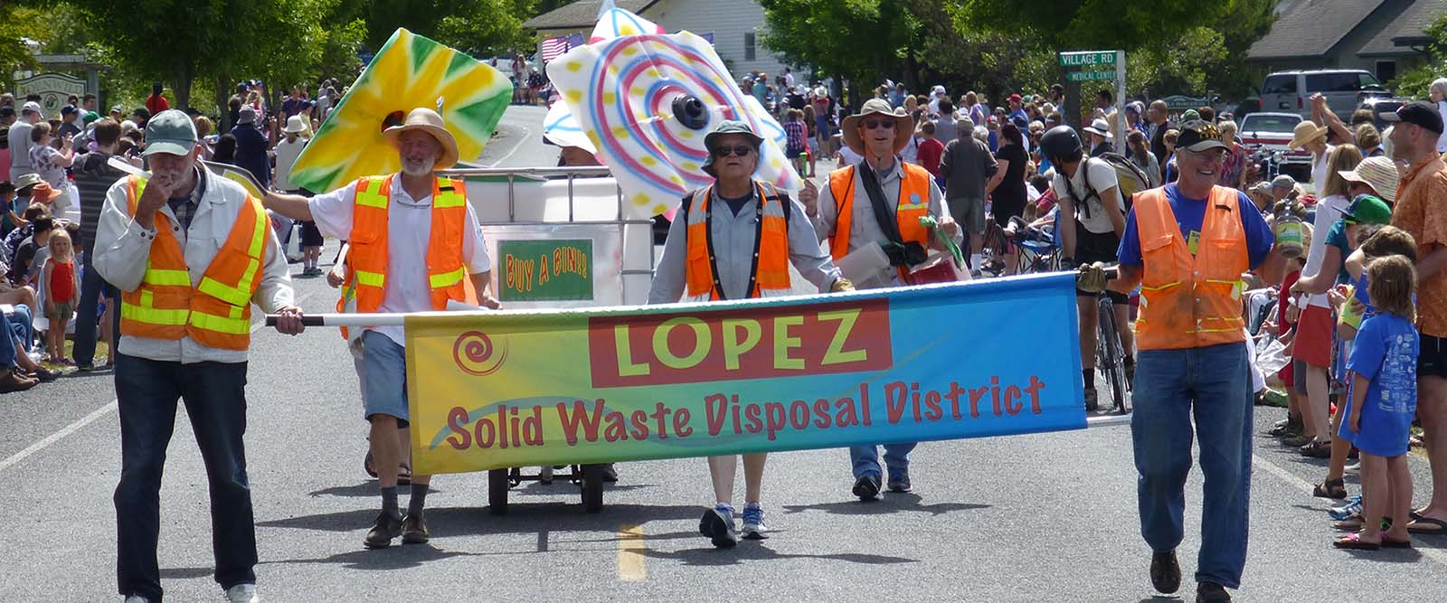 lopez island solid waste district july fourth 4th parade