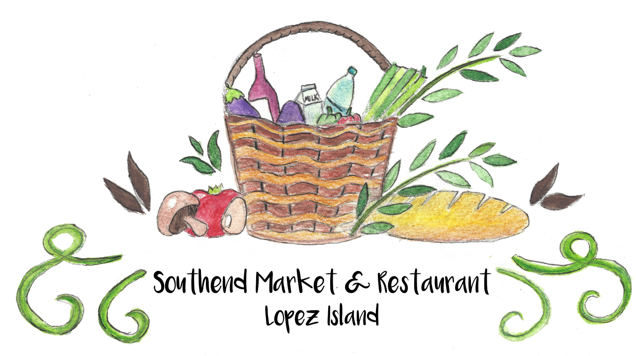lopez island southend market beer wine local arts groceries restaurant