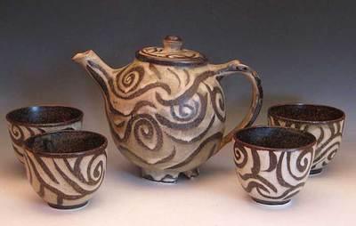 lopez island pottery ceramics artist clay pots raku