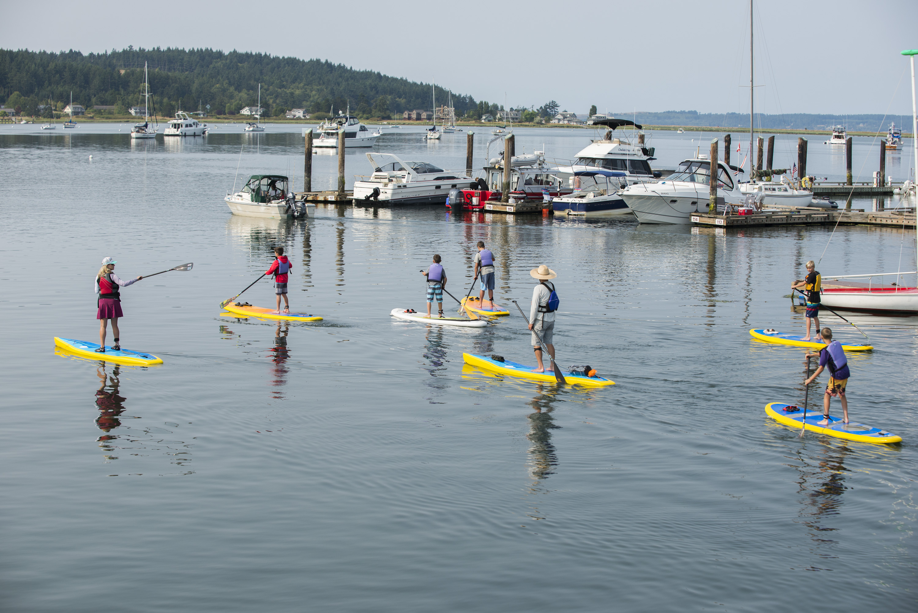 lopez island activities paddle boarding beach water