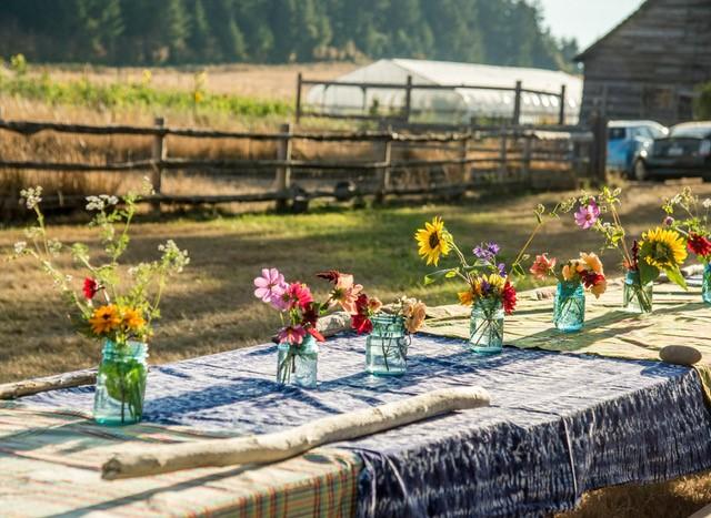 lopez island food potluck picnic