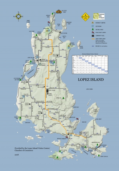 Maps Of Lopez Lopez Island Chamber Of Commerce